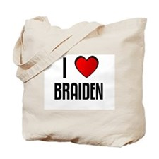 I LOVE BRAIDEN Tote Bag