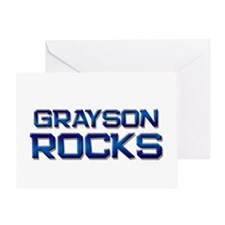 grayson rocks Greeting Card