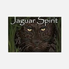 Jaguar Spirit Rectangle Magnet (10 pack)
