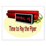 Tax Day Small Poster