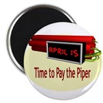 """Tax Day 2.25"""" Magnet (100 pack)"""