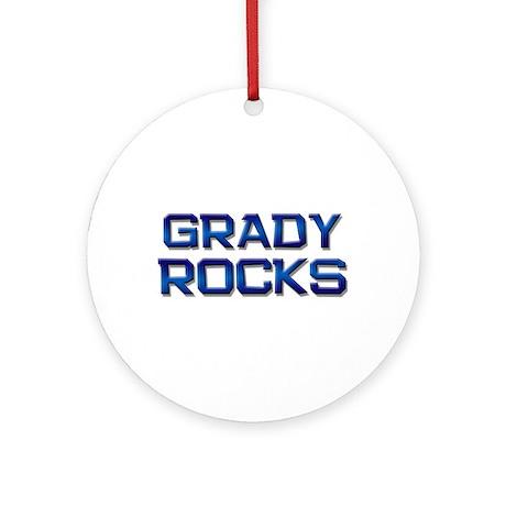 grady rocks Ornament (Round)