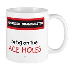 Bring on the Ace Holes Mug (Red and Black)