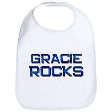 gracie rocks Bib