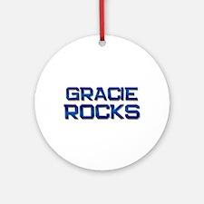 gracie rocks Ornament (Round)
