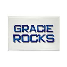 gracie rocks Rectangle Magnet (10 pack)