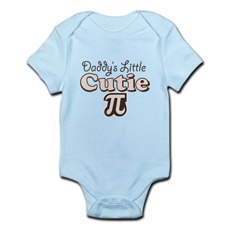 Daddy's Little Cutie Pi Infant Bodysuit