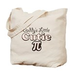 Daddy's Little Cutie Pi Tote Bag
