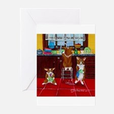 Lick, Wash, Dry Greeting Cards (Pk of 10)