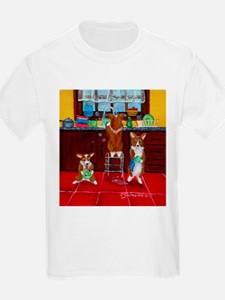 Lick, Wash, Dry Kids T-Shirt