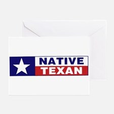 Native Texan Greeting Cards (Pk of 20)