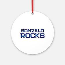 gonzalo rocks Ornament (Round)