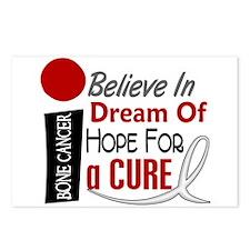 BELIEVE DREAM HOPE Bone Cancer Postcards (Package