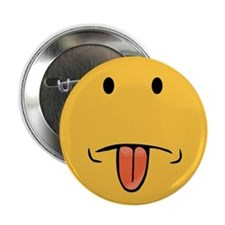 "Funny Face 2.25"" Button"