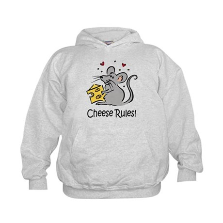 Cheese Rules Kids Hoodie