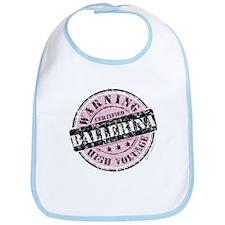 Certified Ballerina Bib