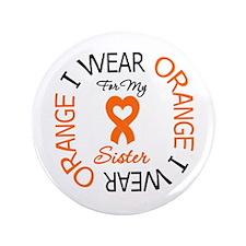 "IWearOrange Sister 3.5"" Button (100 pack)"