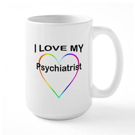 I LOVE MY T SHIRTS: Large Mug