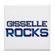 gisselle rocks Tile Coaster