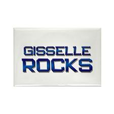 gisselle rocks Rectangle Magnet