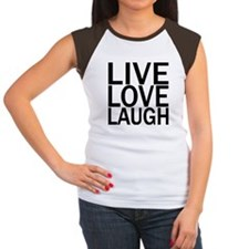 Live Love Laugh Women's Cap Sleeve T-Shirt