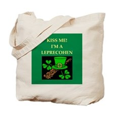 jewish st. patrick's day Tote Bag