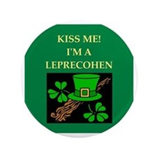 "jewish st. patrick's day 3.5"" Button"
