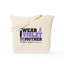 I Wear Violet For My Mother Tote Bag