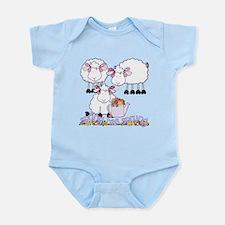 Spring Sheep Infant Bodysuit