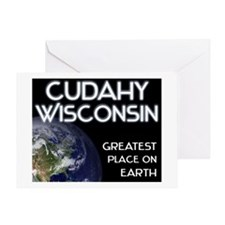 cudahy wisconsin - greatest place on earth Greetin