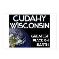cudahy wisconsin - greatest place on earth Postcar