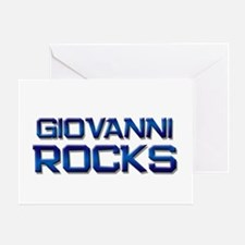 giovanni rocks Greeting Card
