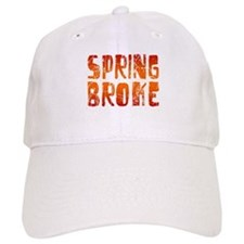 Spring Broke Baseball Cap
