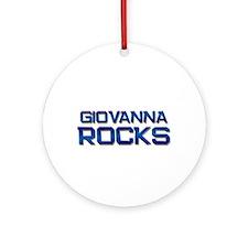 giovanna rocks Ornament (Round)