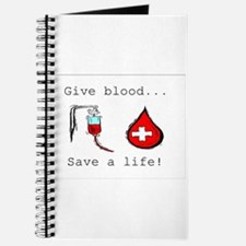 Give blood Journal