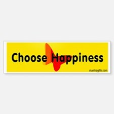 Choose Happiness Bumper Bumper Bumper Sticker