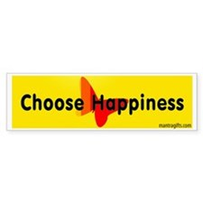 Choose Happiness Bumper Bumper Sticker