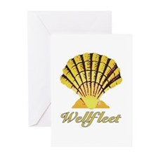 Wellfleet Shell Greeting Cards (Pk of 10)