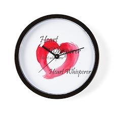 Cool Heart whisperer Wall Clock