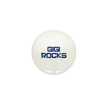 gigi rocks Mini Button