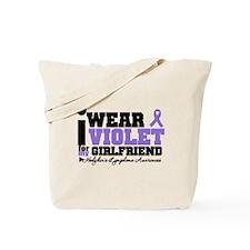 I Wear Violet For Girlfriend Tote Bag