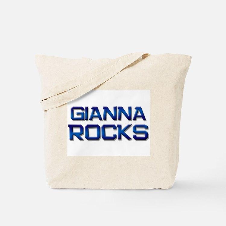 gianna rocks Tote Bag