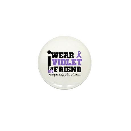 I Wear Violet For Friend Mini Button