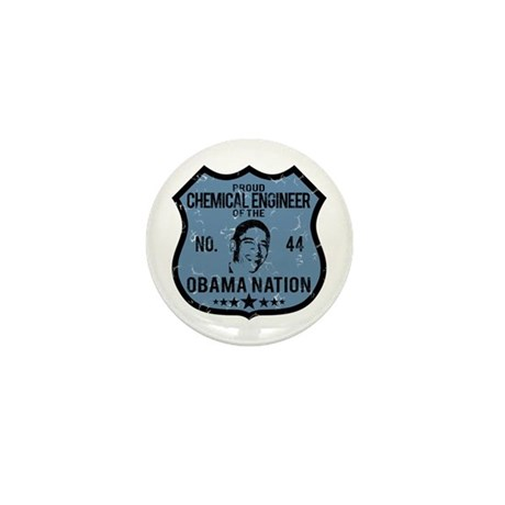 Chemical Engineer Obama Nation Mini Button