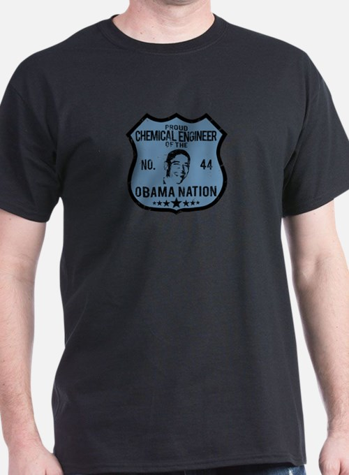 Chemical Engineer Obama Nation T-Shirt