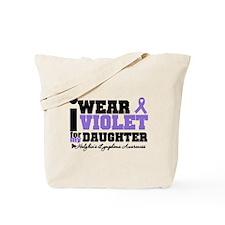 I Wear Violet For Daughter Tote Bag