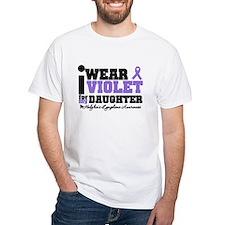 I Wear Violet For Daughter Shirt