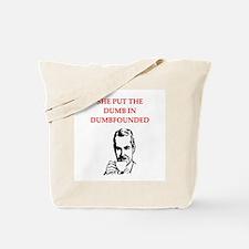funny men's divorce joke Tote Bag