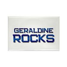 geraldine rocks Rectangle Magnet