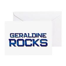 geraldine rocks Greeting Card